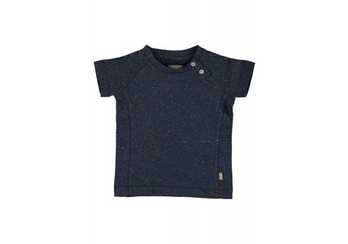 Kidscase Kidscase Hunter Organic Baby t- shirt Dark Blue