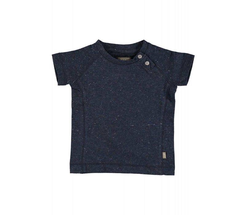 Kidscase Hunter Organic Baby t- shirt Dark Blue