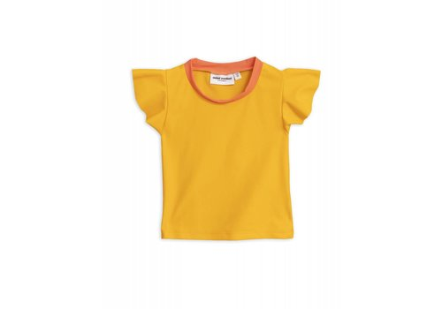 Mini Rodini Mini Rodini - Wing Swimtop Yellow and Highwaisted Swimpant Yellow