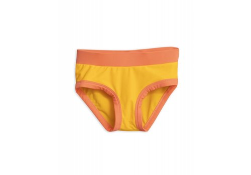 Mini Rodini Mini Rodini - Highwaisted Swimpant Yellow