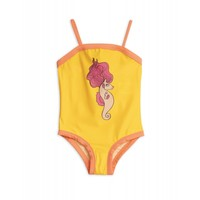 Mini Rodini - Seahorse swimsuit Yellow
