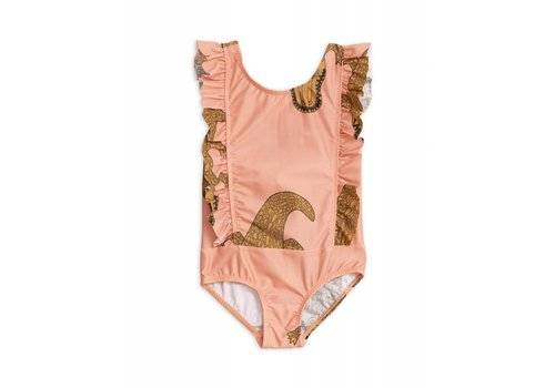 Mini Rodini Mini Rodini - Crocco ruffled swimsuit