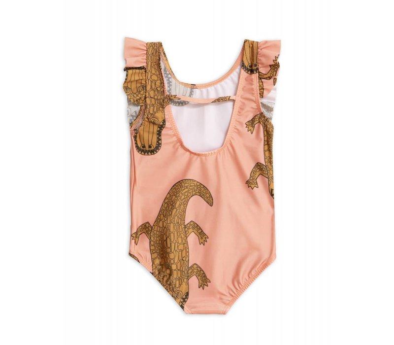 Mini Rodini - Crocco ruffled swimsuit