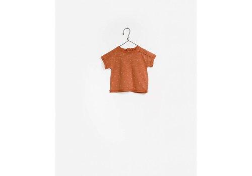 Play Up Play Up printed Flame T- Shirt Brown / dots