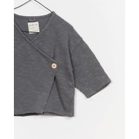 Play Up Jersey Jacket Grey