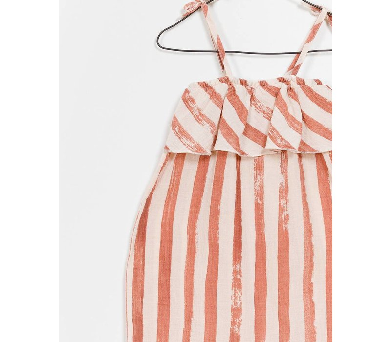 Play Up Printed Woven Jumpsuit