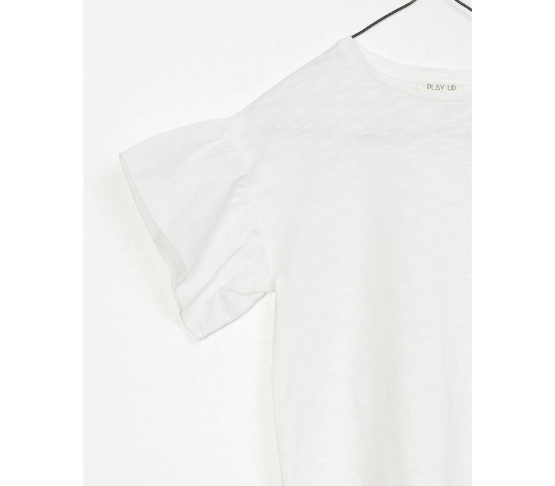 Play Up - Jersey T-Shirt White