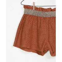 Play Up - Terry Shorts Brown