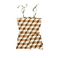Snurk - Wooden Cubes Playsuit