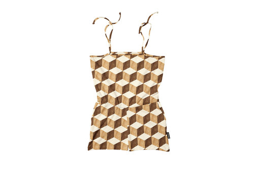 Snurk Snurk - Wooden Cubes Playsuit