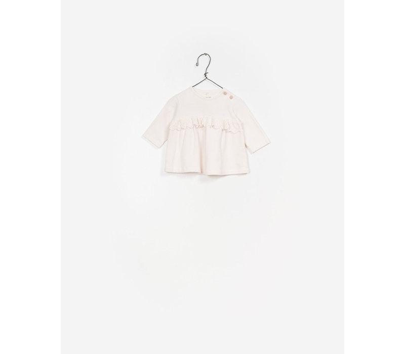 Play Up Fleece Sweater Pink