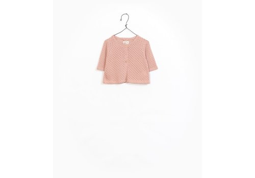 Play Up Play Up Jacket Organic Cotton pink