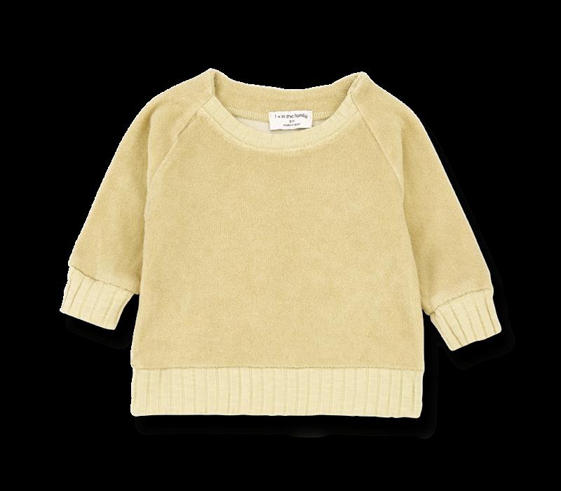 1+ in the Family Sweatshirt Etienne Raffia