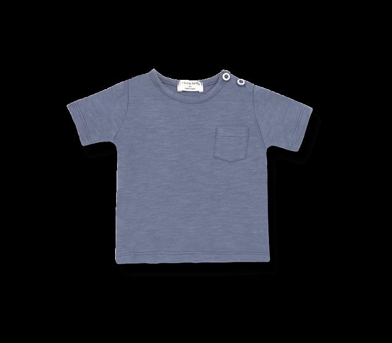 1+ in the Family t-shirt Domenico Indigo