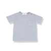 1+ in the Family t-shirt Domenico Light Blue