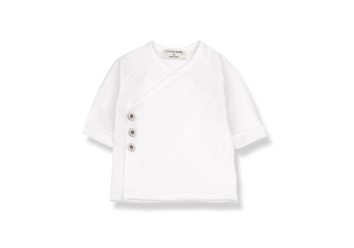 1+ IN THE FAMILY +1 in the Family Gadea New Born Shirt White