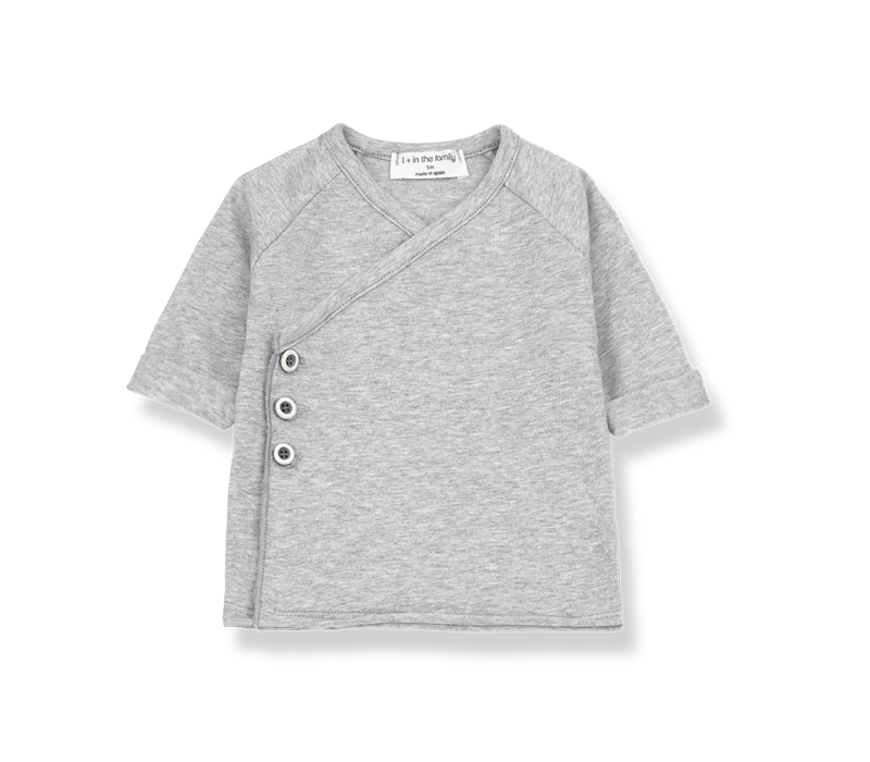 1+ in the Family Gadea New Born Shirt Grey