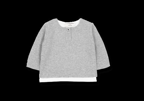 1+ in the Family Anton New Born Shirt Grey