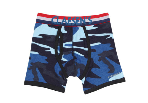 Claesens Claesen's boxer 2-pack light blue/ army