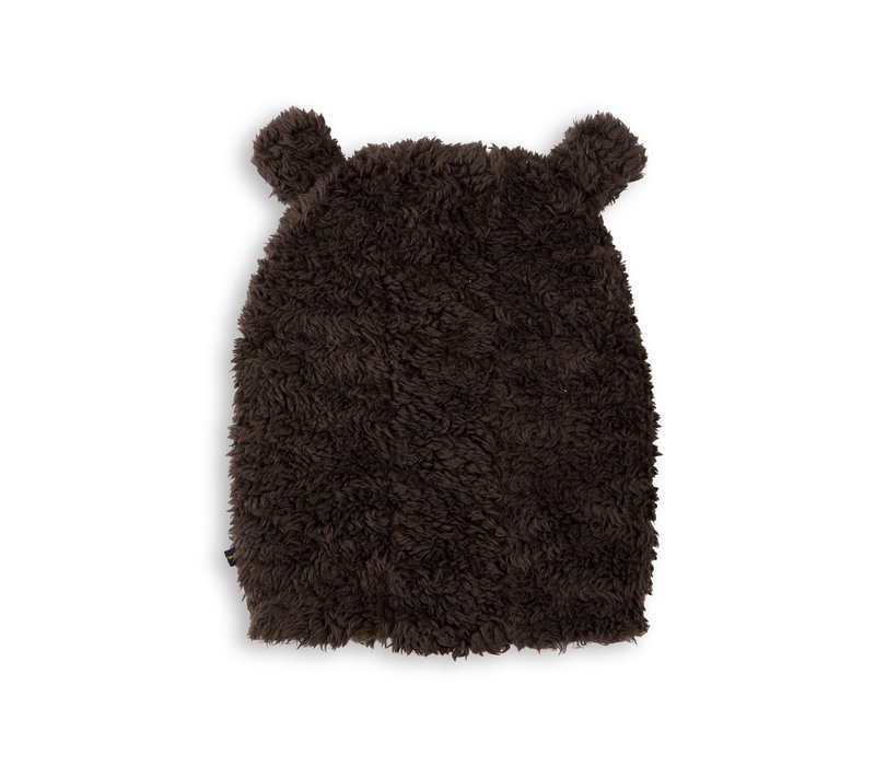 Mini Rodini - hat- ears-brown