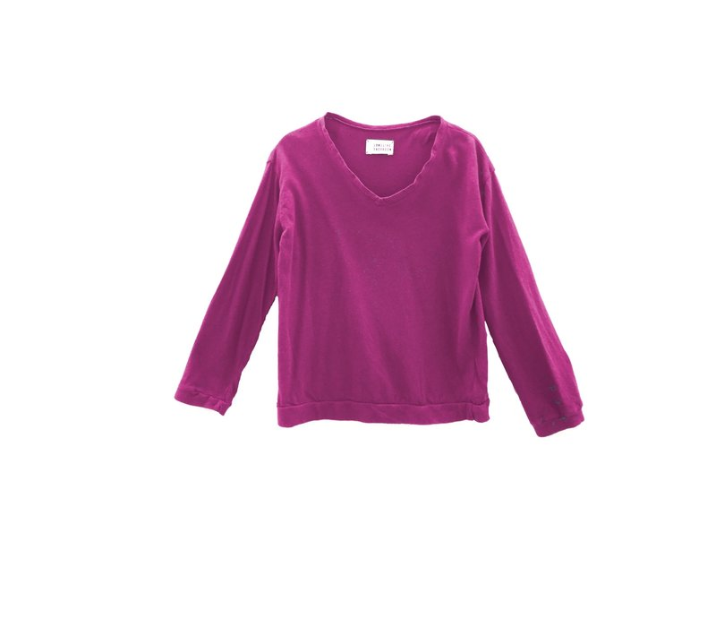 Long live the Queen Longsleeve Roze