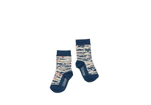 Kidscase Kidscase organic socks blue