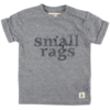 Small Rags Small Rags short sleeve baby boys navy spatten