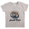Small Rags Small Rags short sleeve baby boys Frost Grey