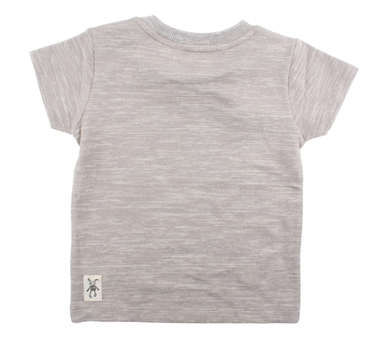 Small Rags short sleeve baby boys Frost Grey