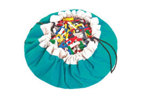 Play & Go Play & Go opbergzak Turquoise