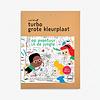 Makii Makii - Turbo - coloring page  - Jungle