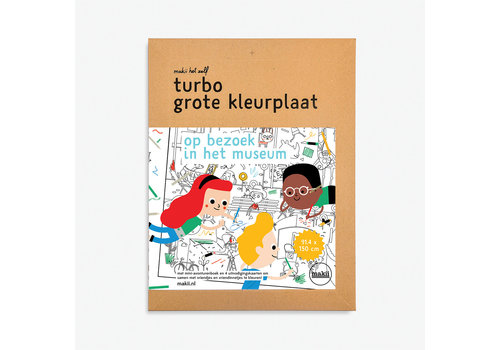 Makii Makii -Turbo - Kleurplaat - Museum