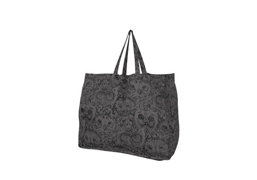 Soft Gallery Soft Gallery - Weekend bag- AOP Owl grey