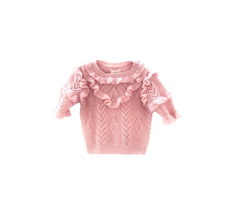 Long live the Queen Ruffle Sweater