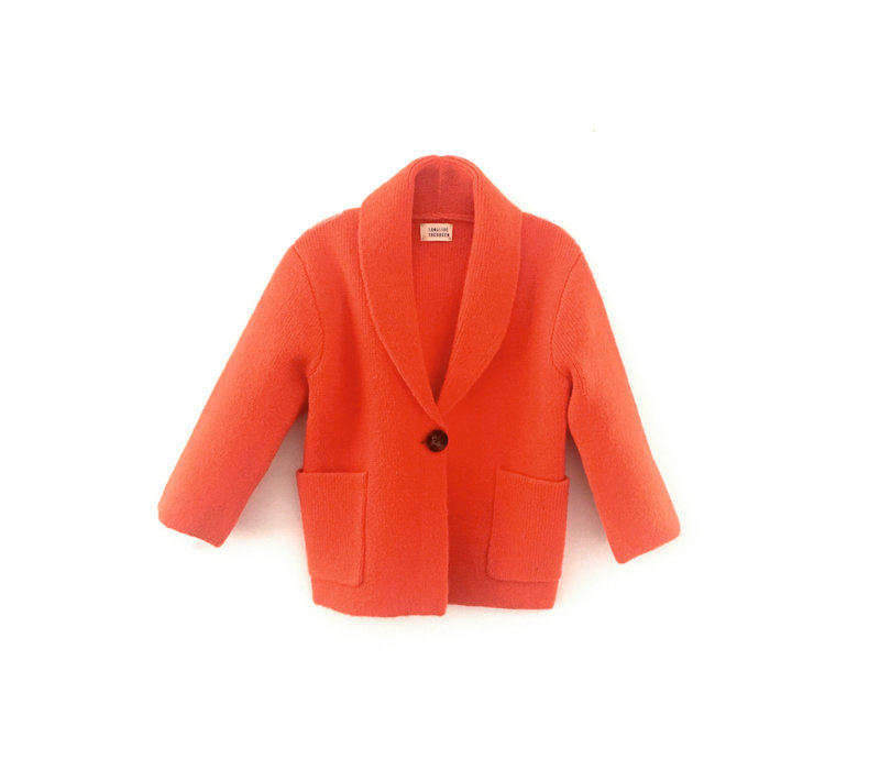 Long live the Queen knitted blazer