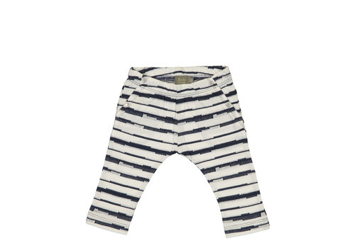 Kidscase Kidscase Syd organic pants blue stripe