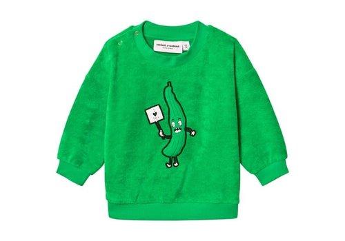Mini Rodini 182MR1822017975Cumcumberterrysweatshirt