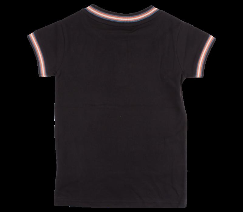 Small Rags Gustav SS T-Shirt Phantom