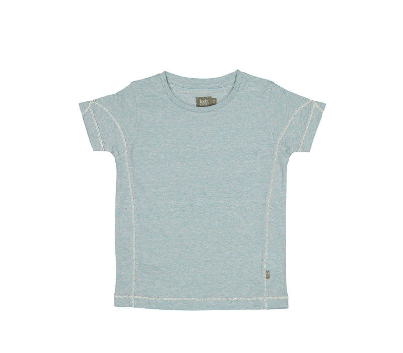 Kidscase Matt organic t-shirt light blue
