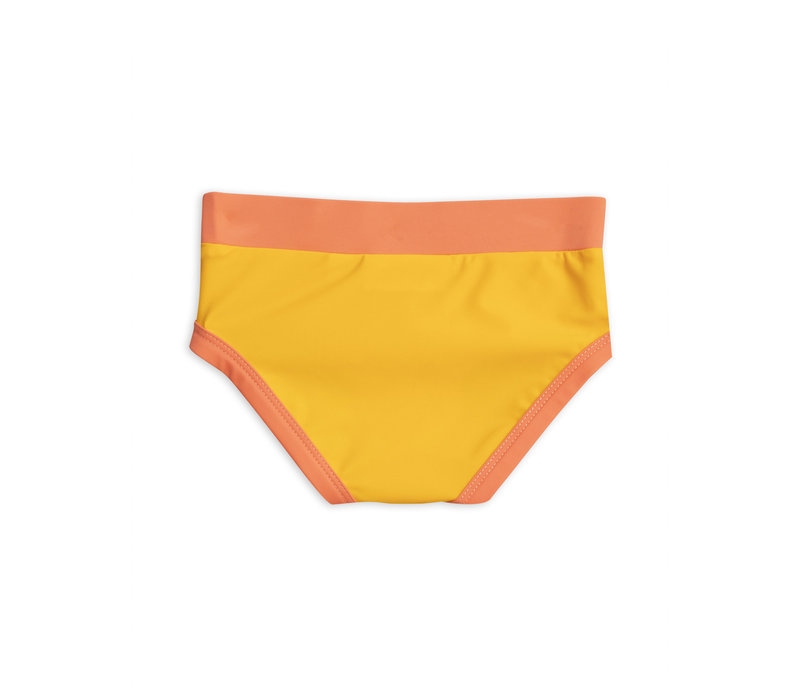 Mini Rodini - Wing Swimtop Yellow and Highwaisted Swimpant Yellow