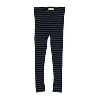 MarMar Copenhagen Stripes Black-Blue Pants / Leg