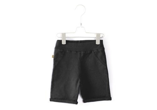 Lötiekids Lotiekids Bermuda shorts Washed Black