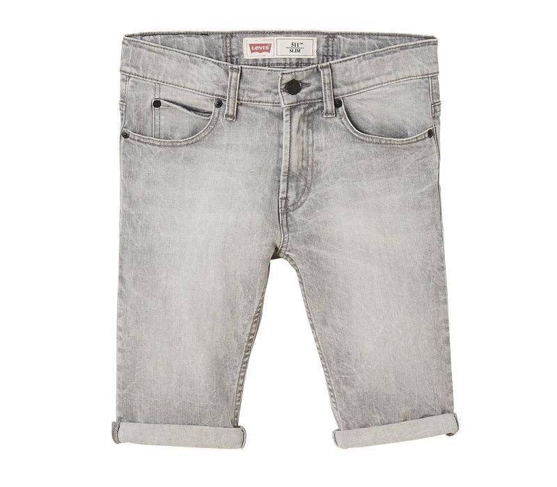 Levis Bermuda 511 skinny stretch grey J