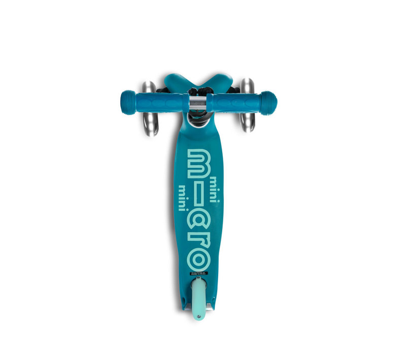 MINI MICRO  SCOOTER DELUXE AQUA LED