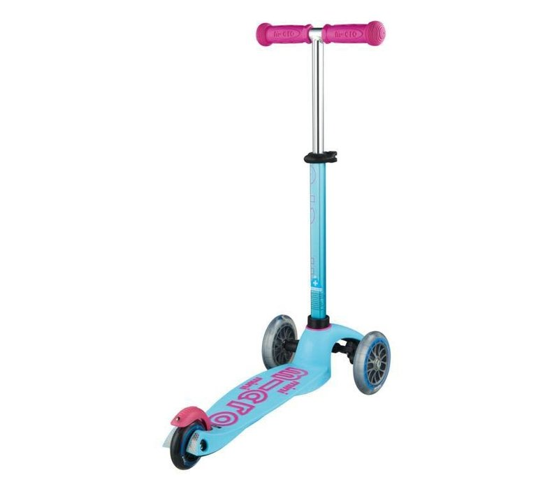 MINI MICRO SCOOTER DELUXE TURQOISE / PINK