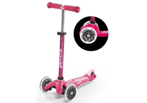 MICRO MINI MICRO SCOOTER DELUXE PINK LED