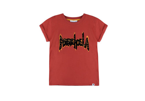 Ammehoela Ammehoela T-Shirt Zoe.02 Warm Red