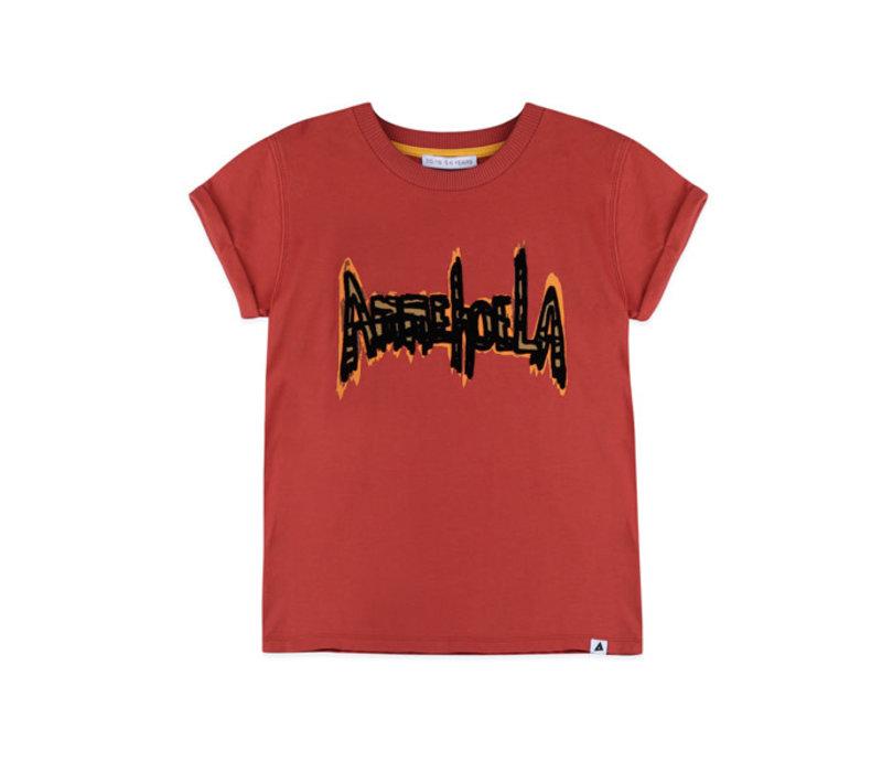 Ammehoela T-Shirt Zoe.02 Warm Red