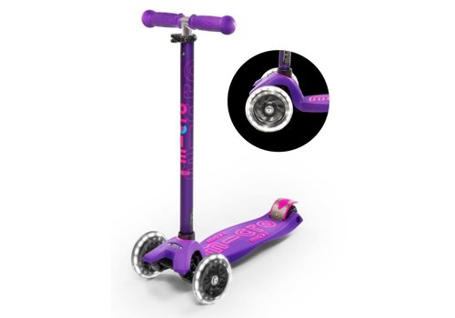 MICRO MAXI MICRO SCOOTER DELUXE PURPLE LED