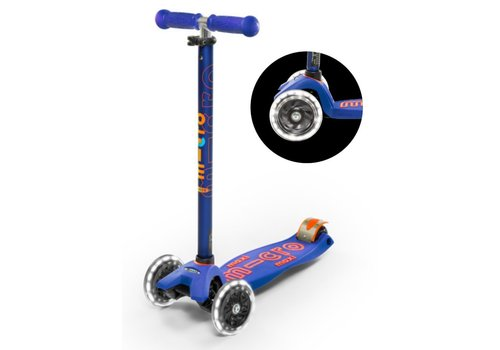 MICRO MAXI MICRO SCOOTER DELUXE BLUE LED